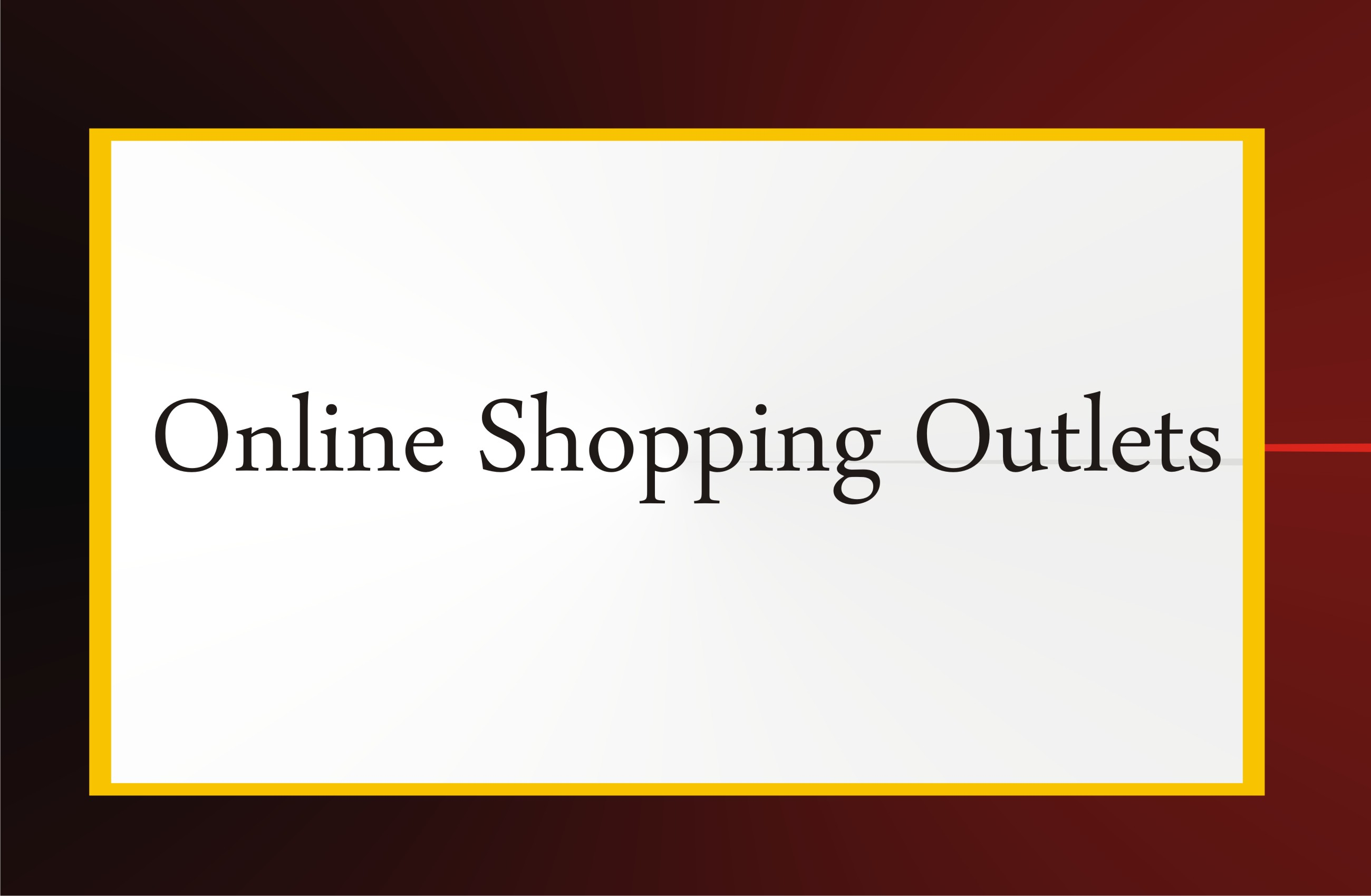 Online Shopping Outlet