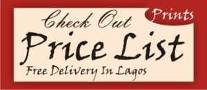 Printing company services in Lagos