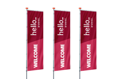Feather Banner Printing in lagos