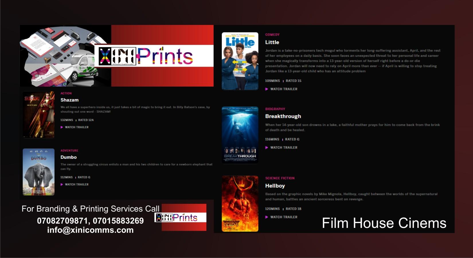 Film Marketing Company In Lagos Nigeria