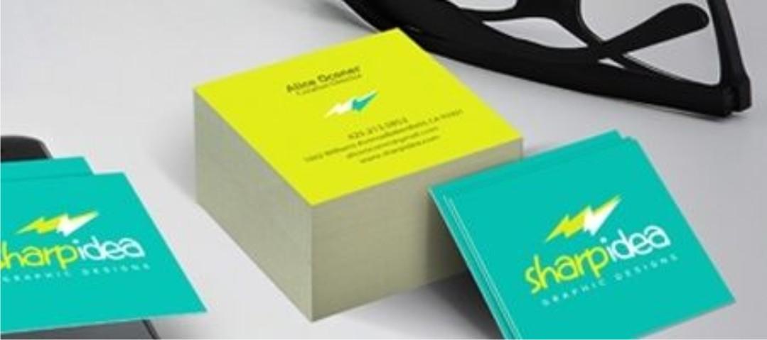 Duplex Square Business Card Printing In Lagos Nigeria
