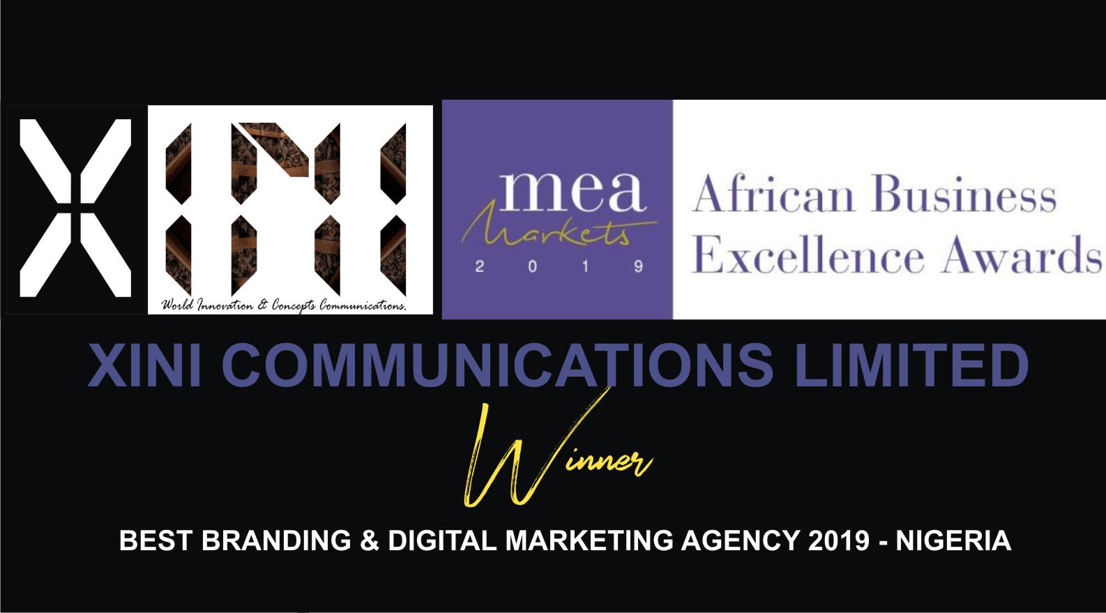 MEA BEST BRANDING AND DIGITAL MARKETING AGENCY 2019 IN