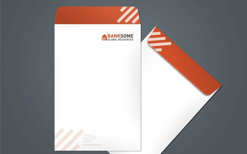 Standard Customized Branded Envelope Printing