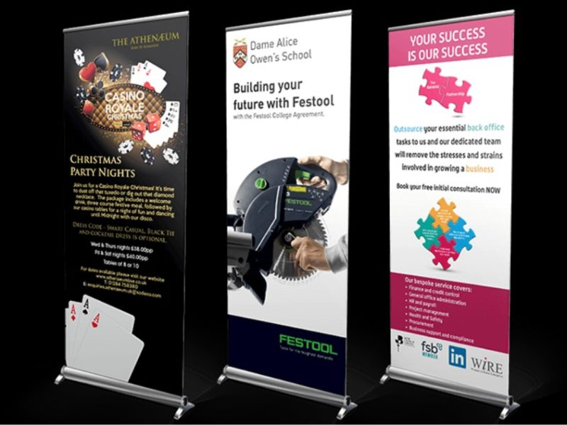 Roll Up Banner Stand Printing In Lagos