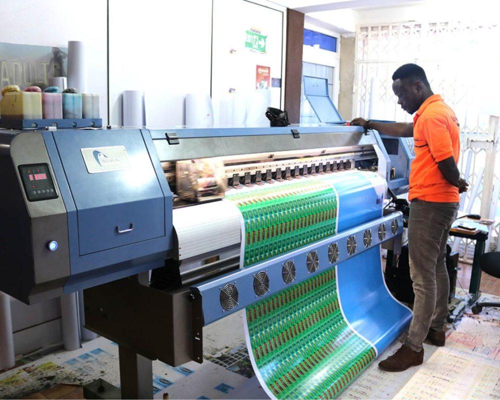 Sticker Printing In Nigeria