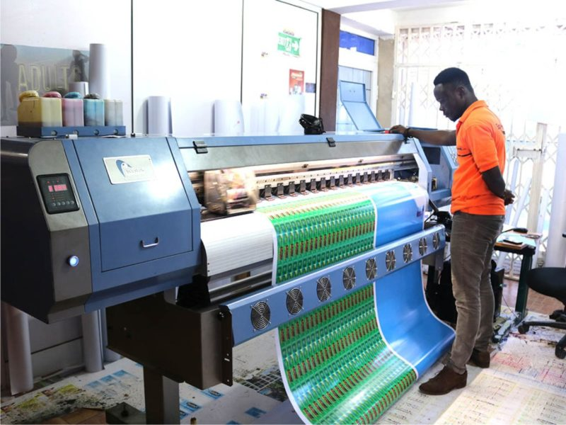 Sticker Printing In Nigeria