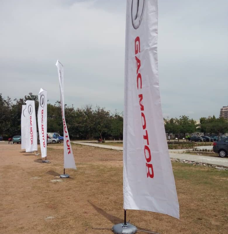 Feather Flag Banner Printing In Lagos Abuja Nigeria