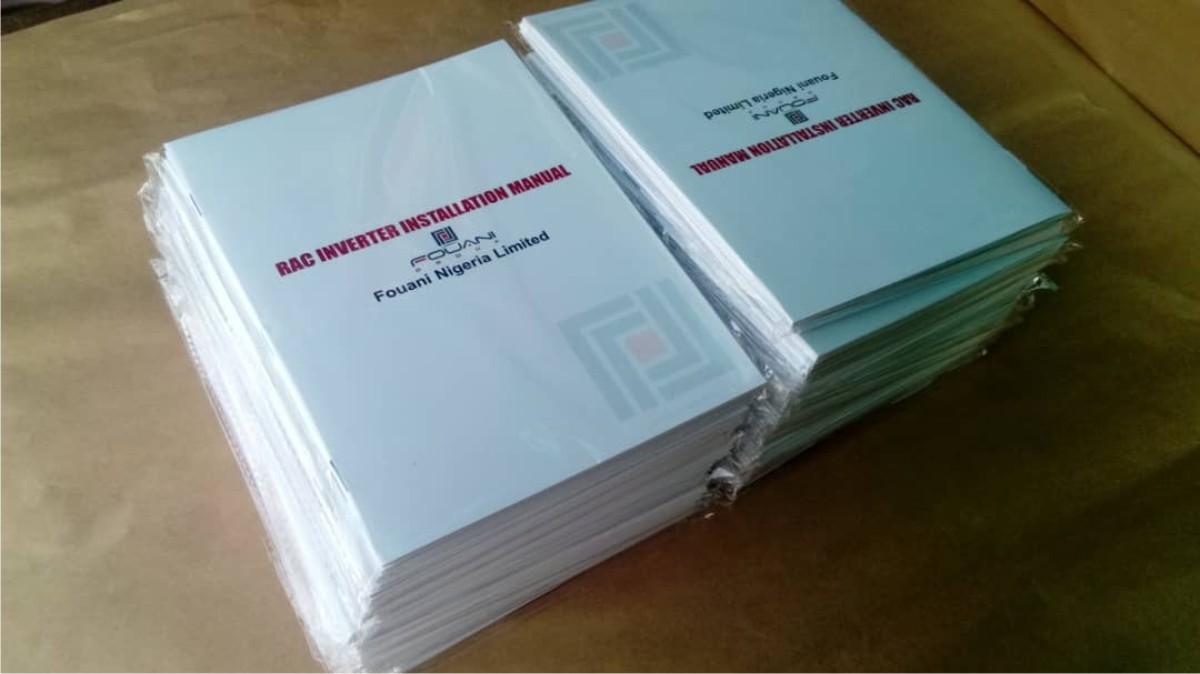 Brochure Manual Printing