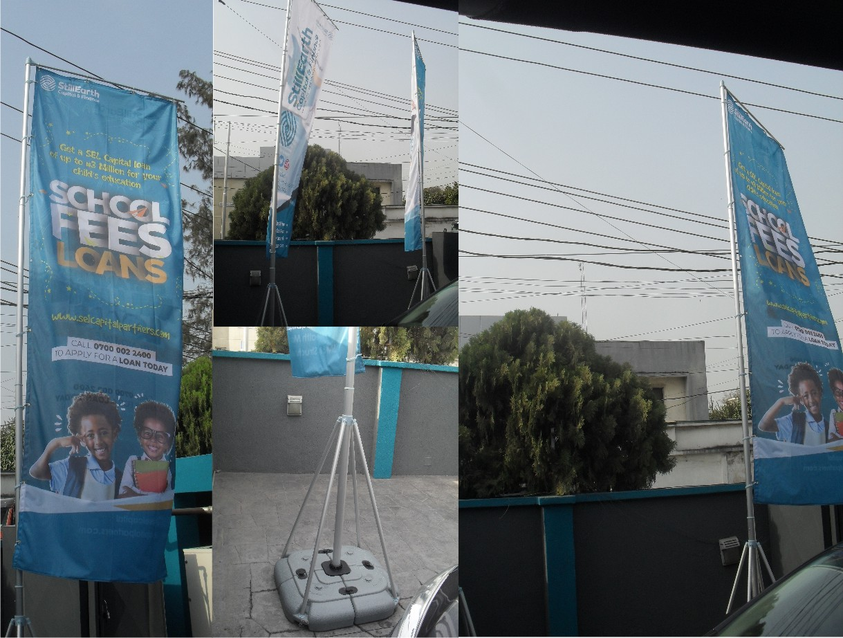 Feather Flag Banner Printing In Lagos Nigeria