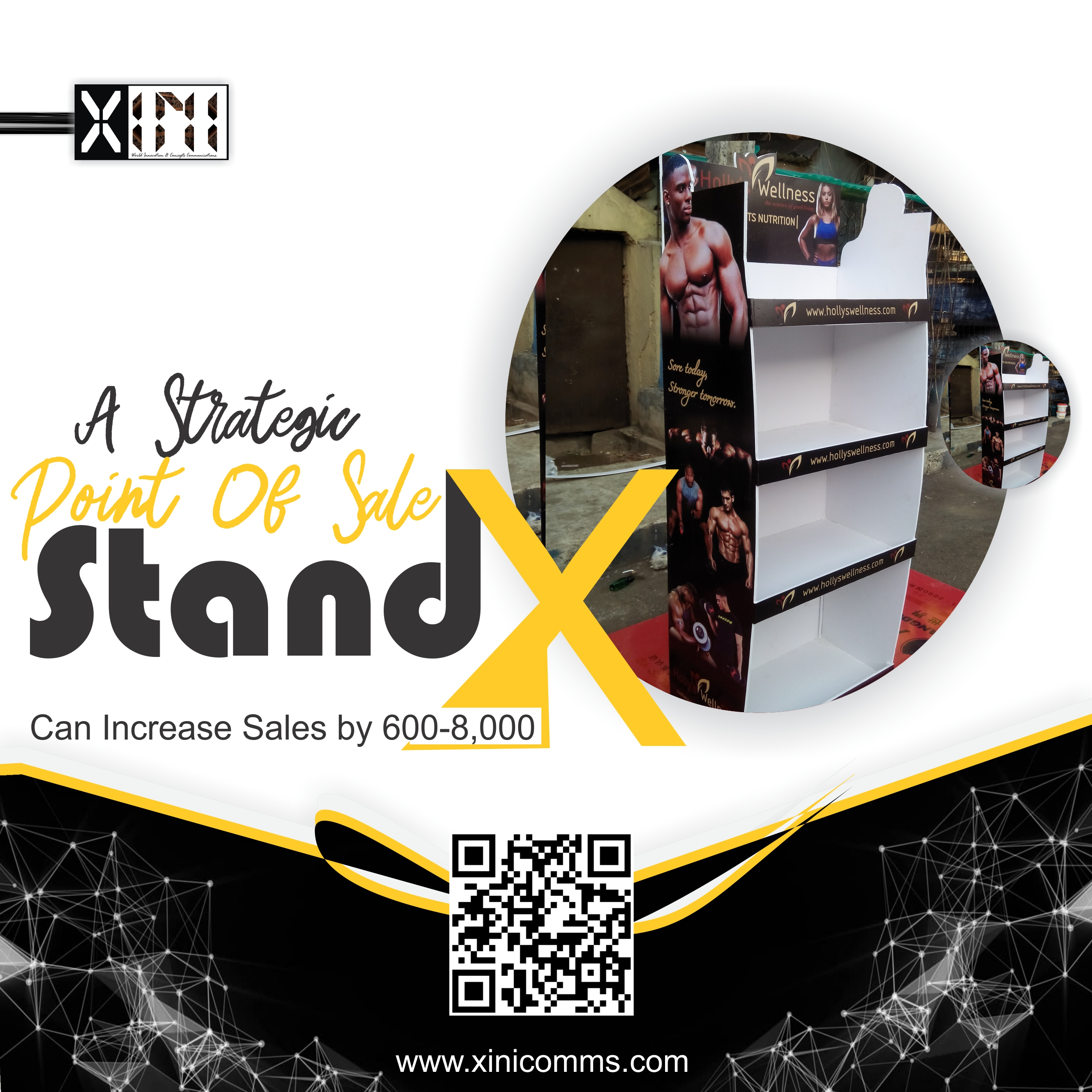 Strategic-Point-Of-Sale-Stand Branding Printing In Lagos Nigeria