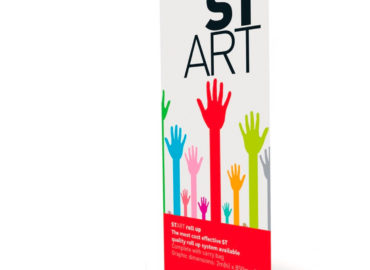 Role up banner the Art Of Printing In Lagos