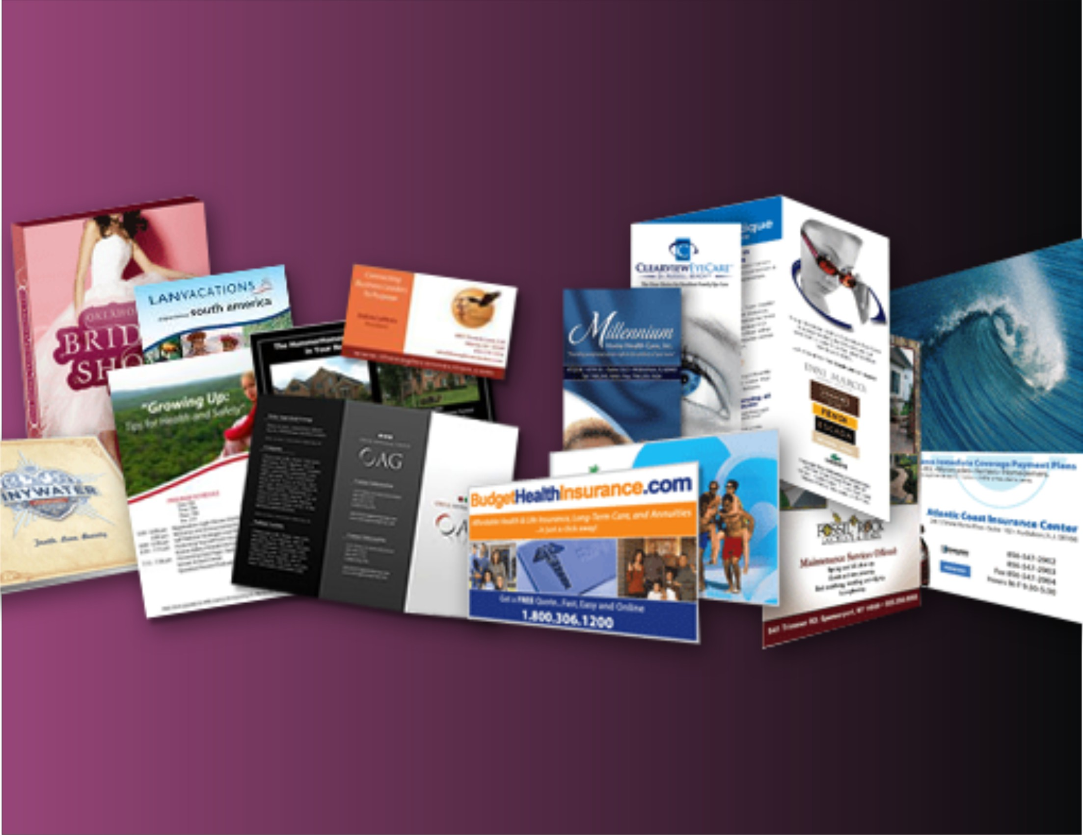 Brochure and magazine printing company
