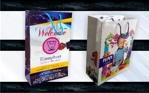 Promotional Career Paper Bags Brand anding printing in Lagos, Nigeria