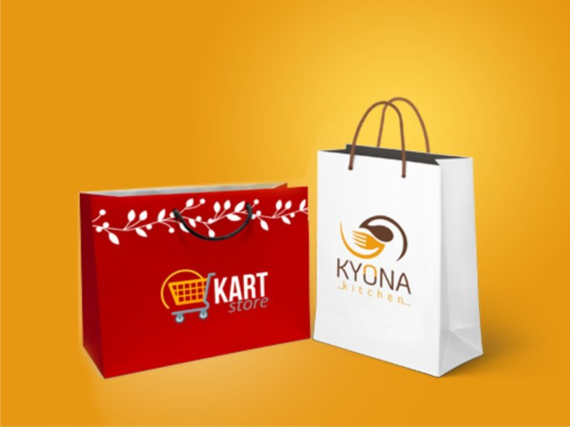 Promotional Career Paper Bags Brand and printing in lagos, Nigeria