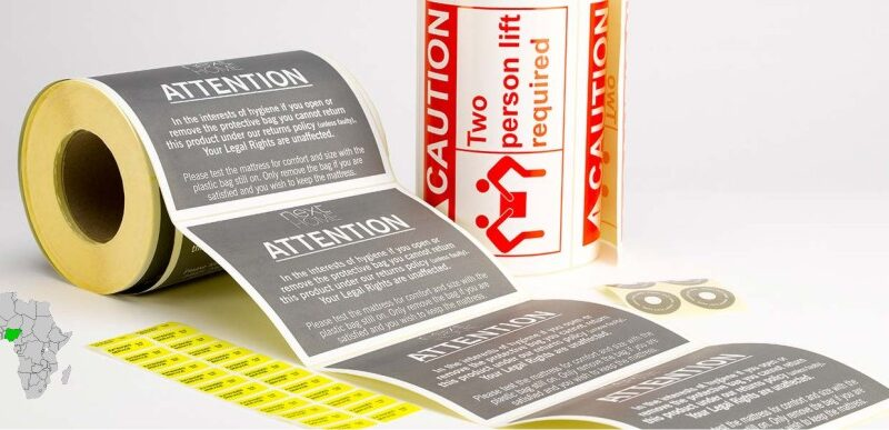Product Brand Label Flexographic Printing In Nigeria